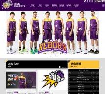 プロバスケットボールクラブ 東京サンレーヴスのホームページを公開