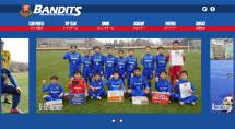 福島県いわき市サッカークラブチーム バンディッツいわきFCのHPをリニューアル